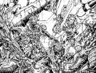 Bloodlust 03. szám tollrajzos wraparound borító