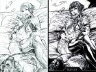 Bloodlust antológia: Cryweni történetek - Kéjgyilkos borító (ceruza/tollrajz)