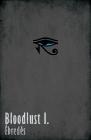Bloodlust 01. minimal borító / poszter (Kozmajer Viktor 'Kozi')